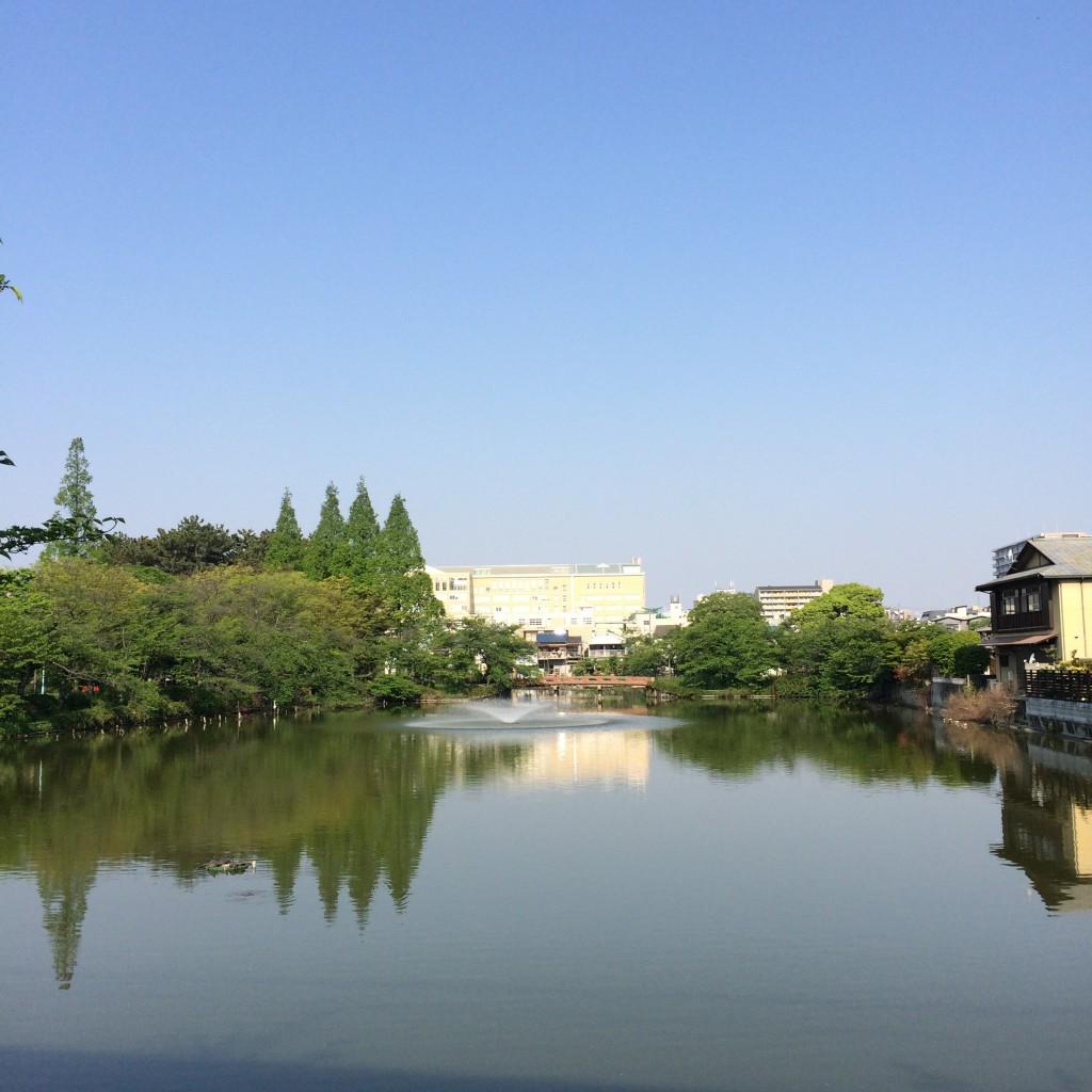 2015年4月27日(月)朝の桃が池
