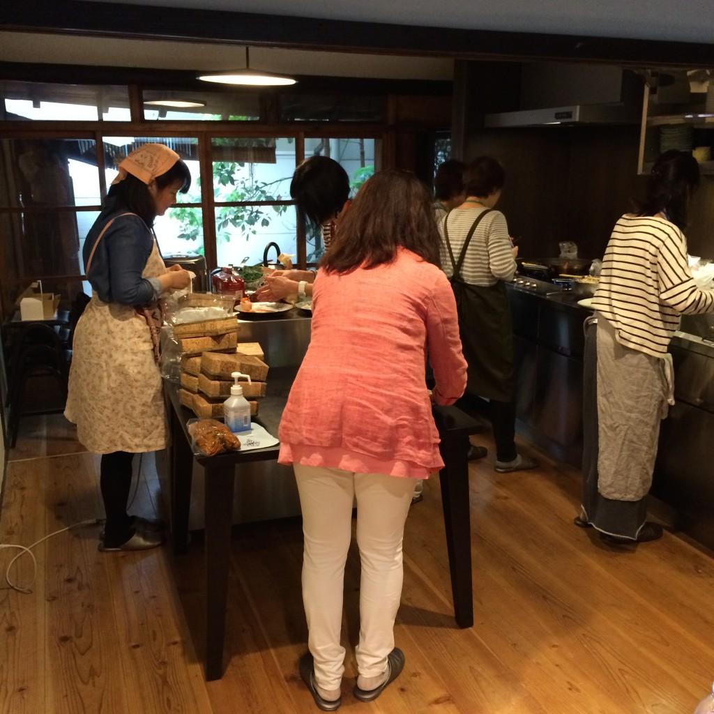 2015年4月29日(水)ワークショップ料理風景