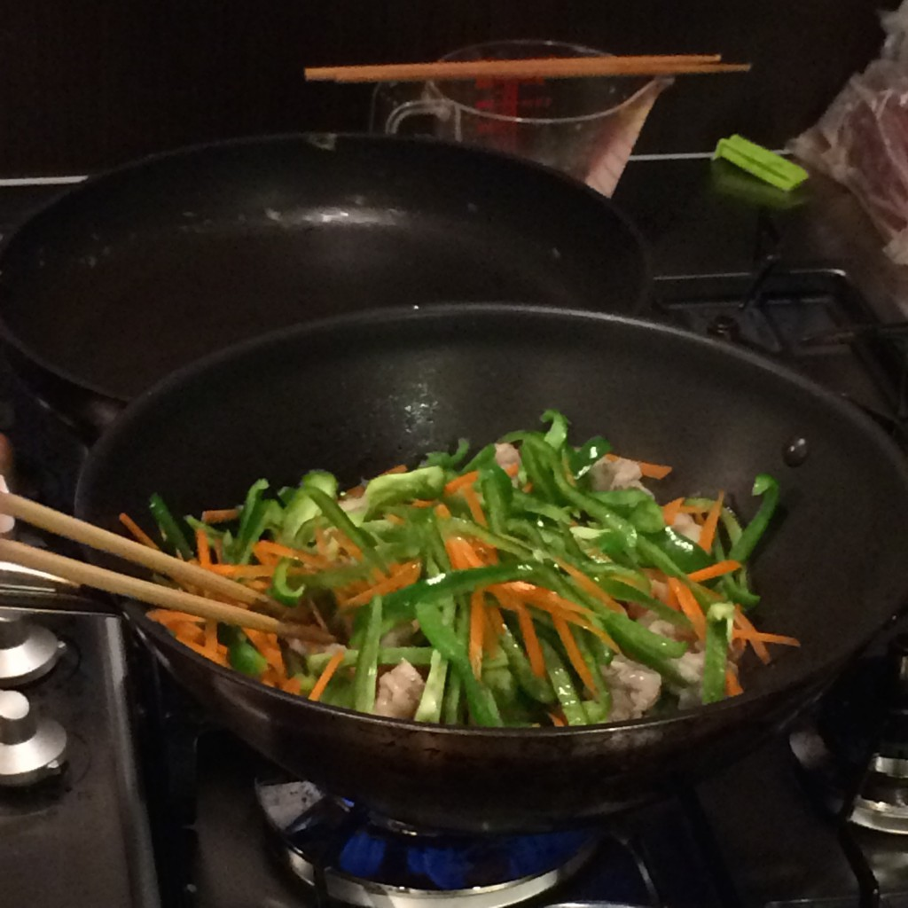 2015年4月29日(水)ワークショップ野菜炒め
