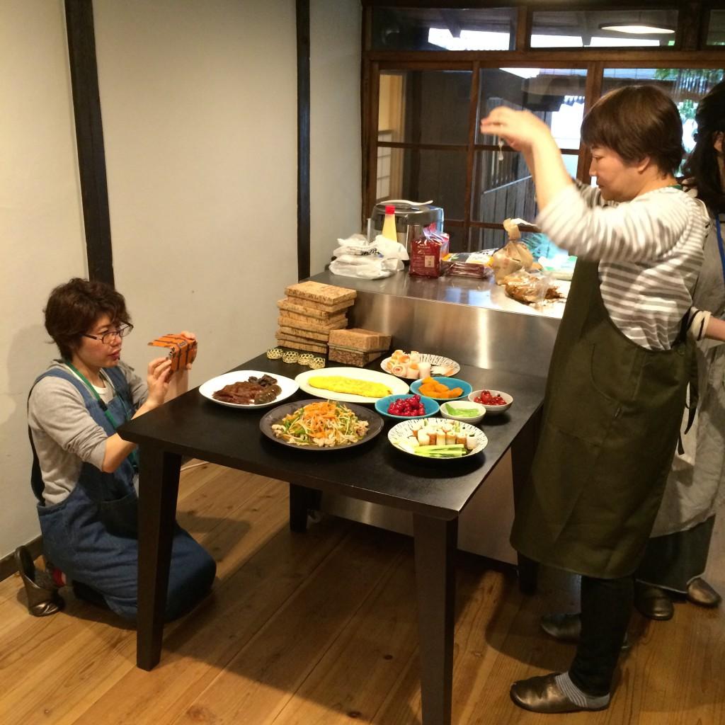 2015年4月29日(水)ワークショップ料理撮影