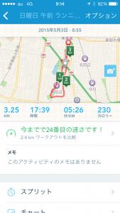 2015年5月3日(日)RunKeeper