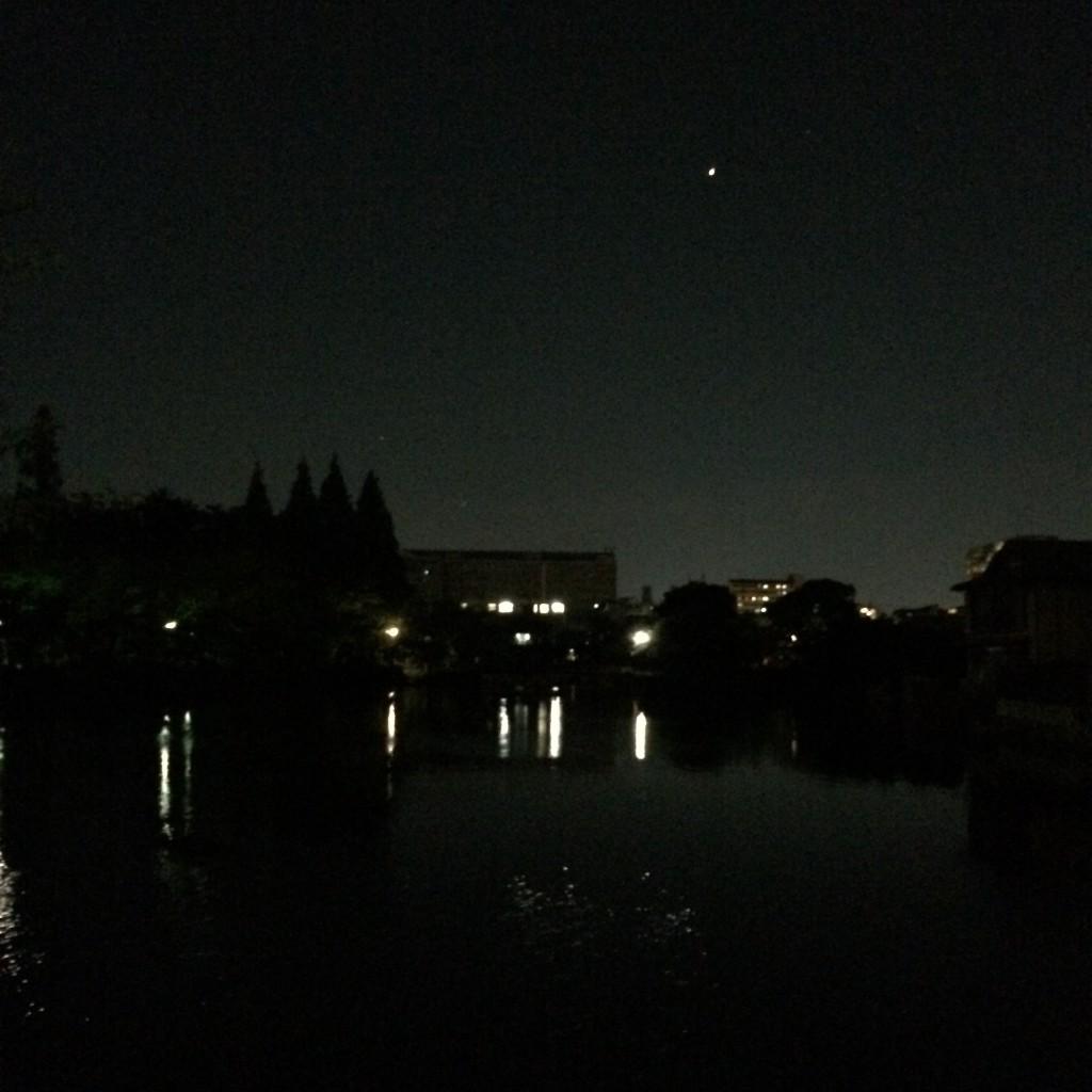 2015年5月31日(日)20時頃の桃が池
