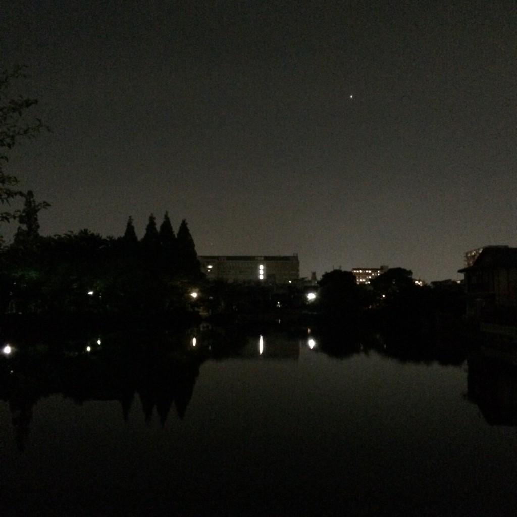 2015年6月1日(月)20時頃の桃が池