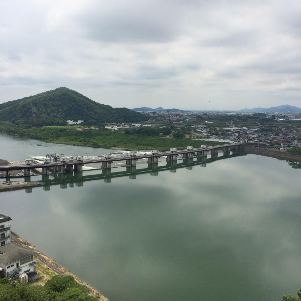 2015年6月12日(金)犬山城の天守閣からの景色2