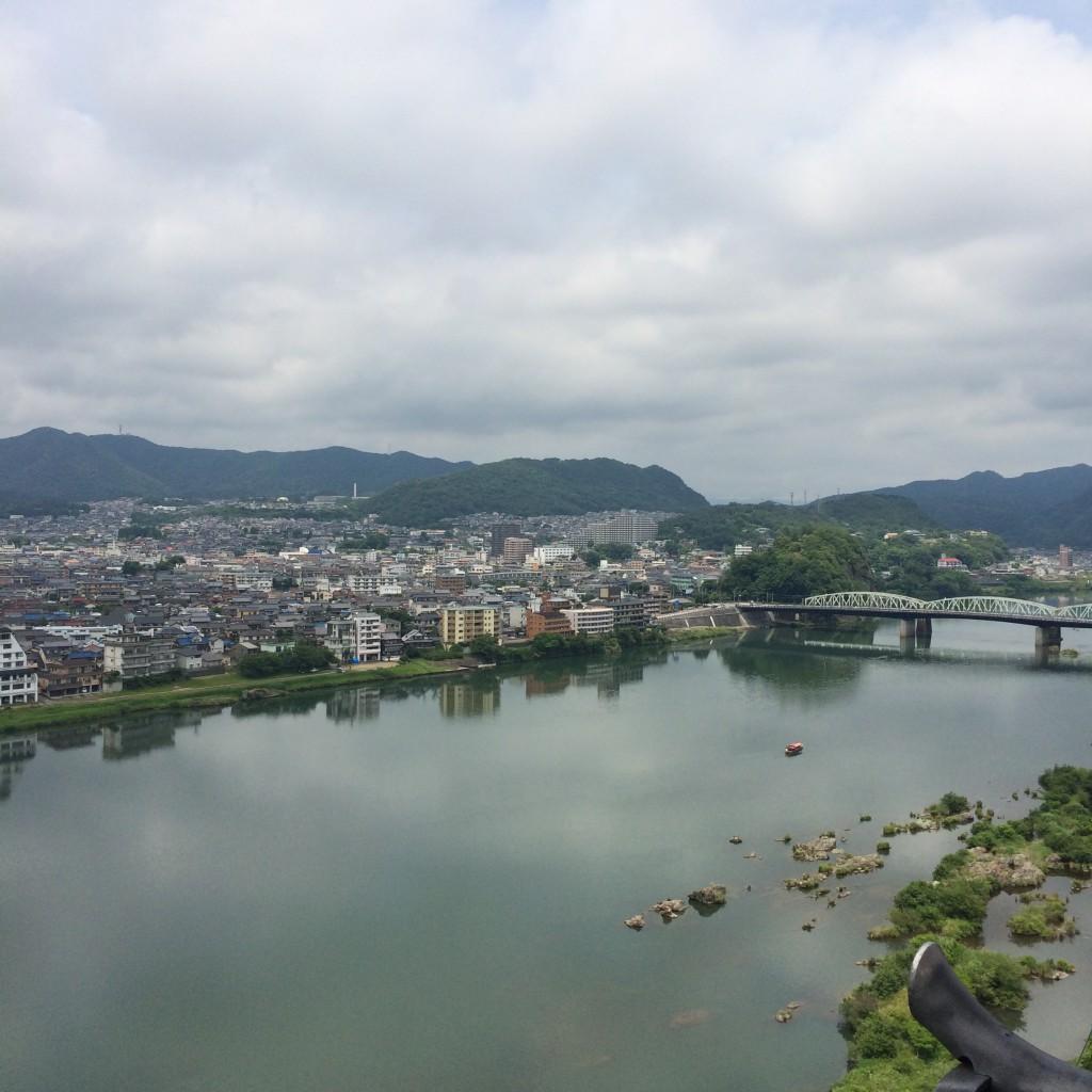 2015年6月12日(金)犬山城の天守閣からの景色3