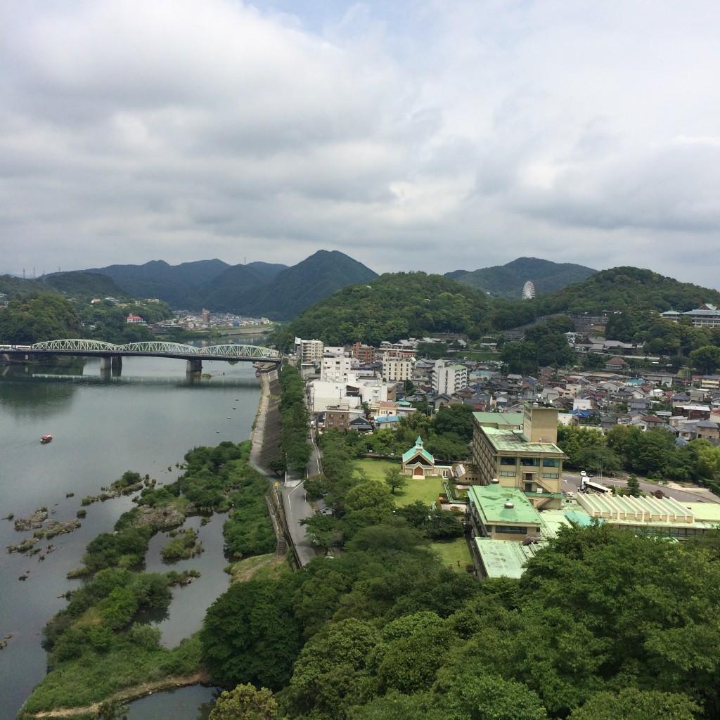 2015年6月12日(金)犬山城の天守閣からの景色4