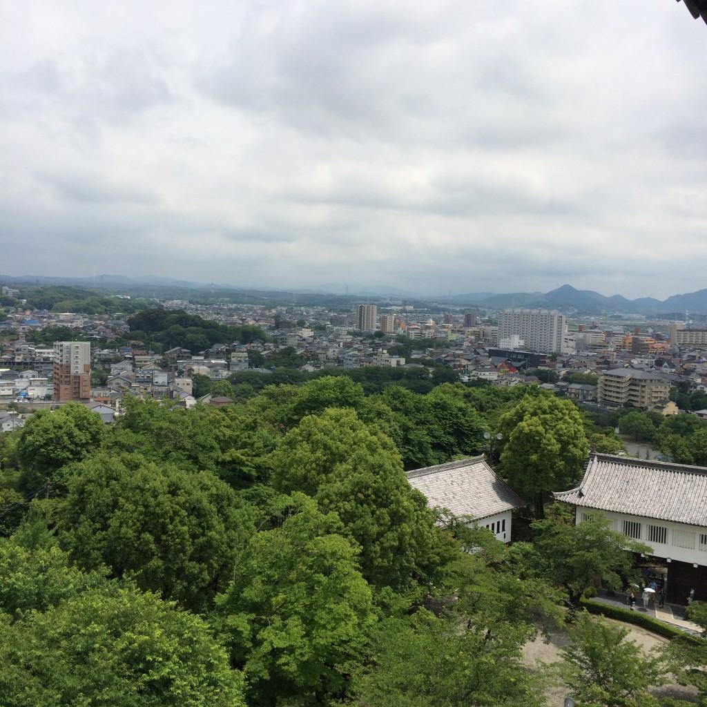 2015年6月12日(金)犬山城の天守閣からの景色5