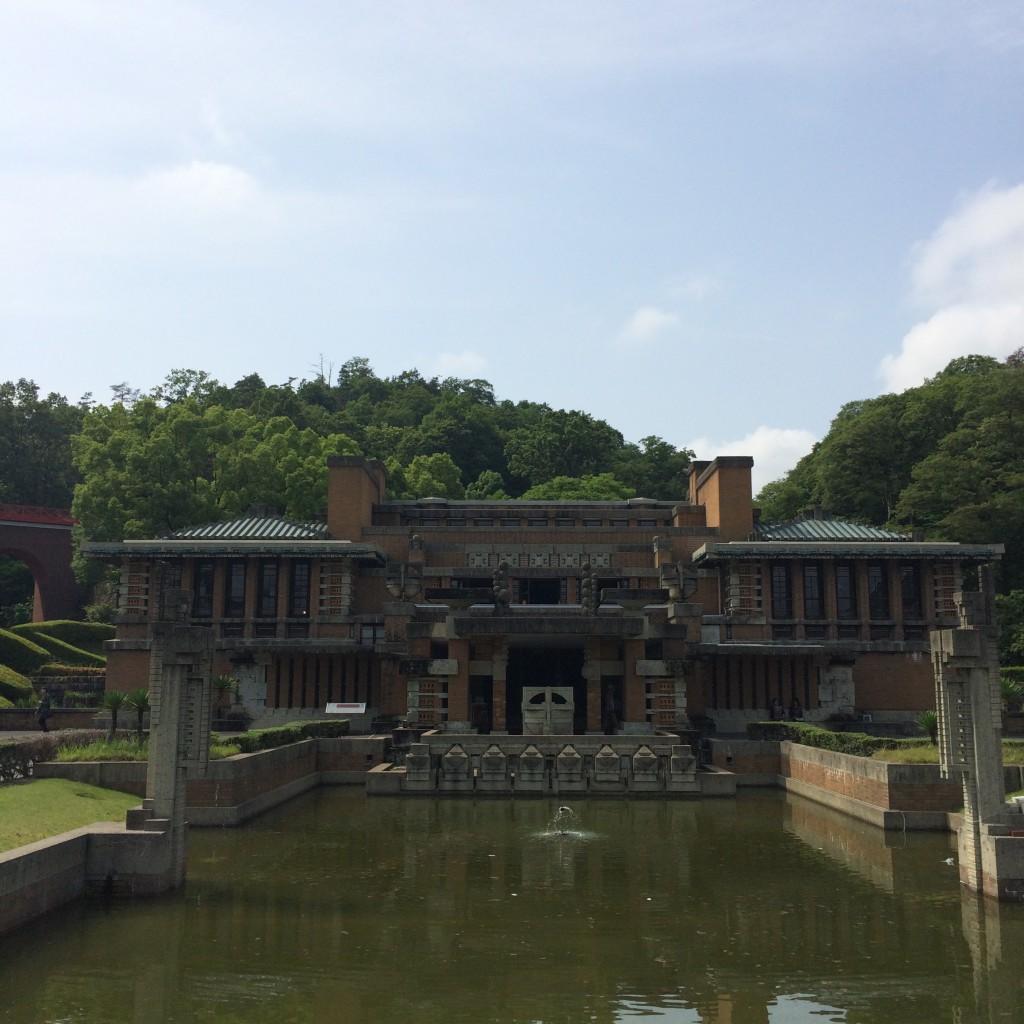 旧帝国ホテルライト館1