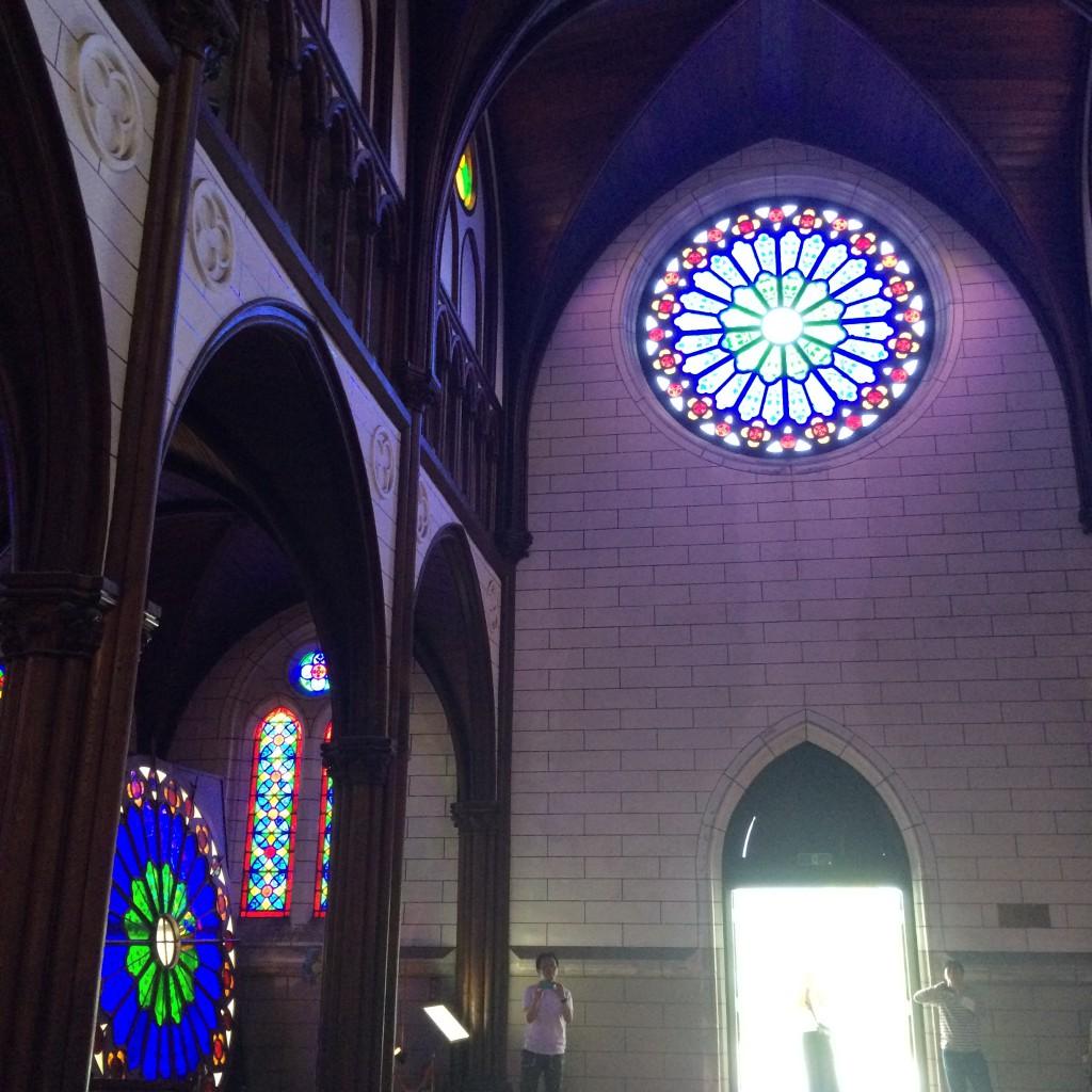 2015年6月12日(金)明治村教会内部2