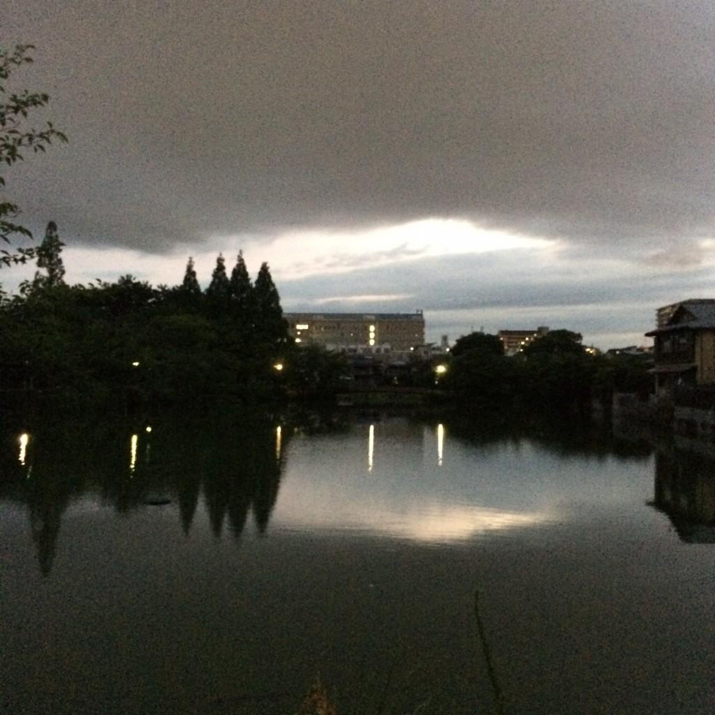 2015年7月1日(水)19時頃の桃ヶ池