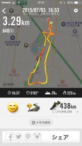 2015年7月3日(金)Nike+