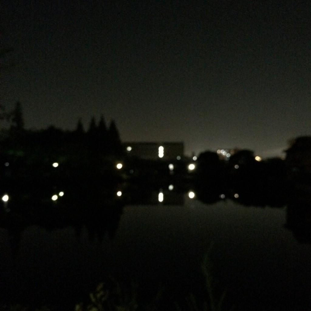 2015年7月18日(土)20時頃の桃が池