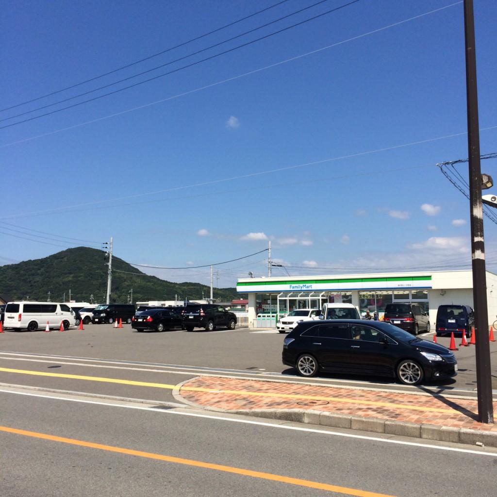 2015年8月23日(日)浜の宮ビーチ前ファミリーマート