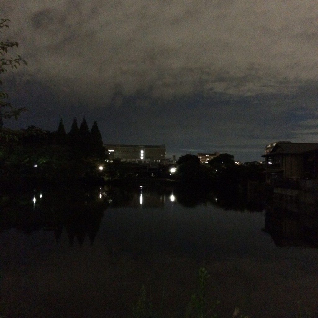 2015年8月26日(水)19時頃の桃が池