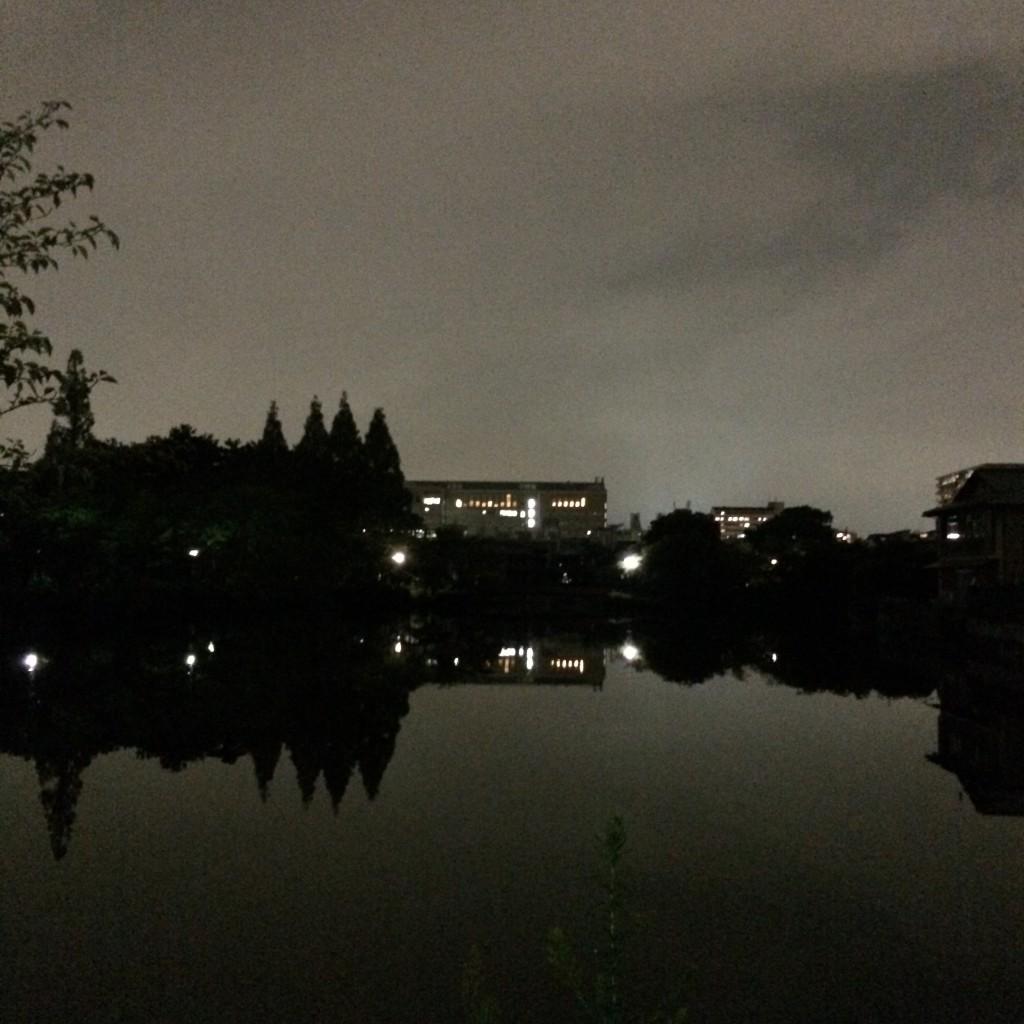 2015年9月3日(木)19時頃の桃が池