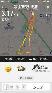 2015年9月6日(日)Nike+