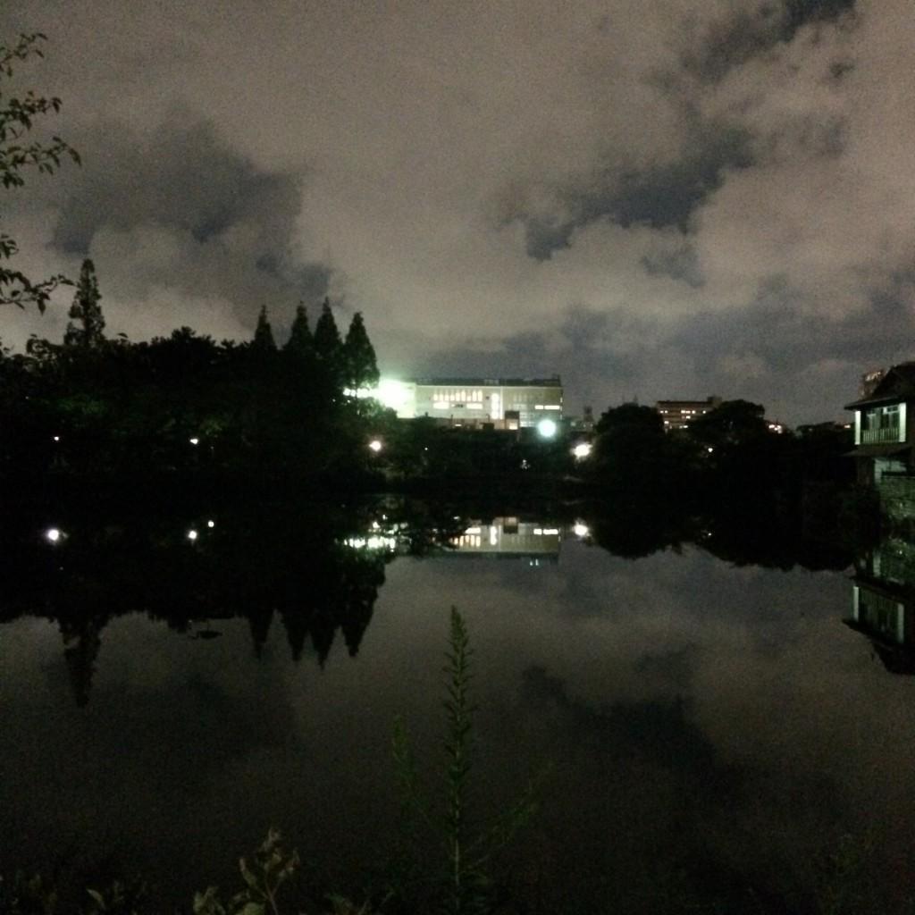 2015年9月9日(水)18時半頃の桃が池