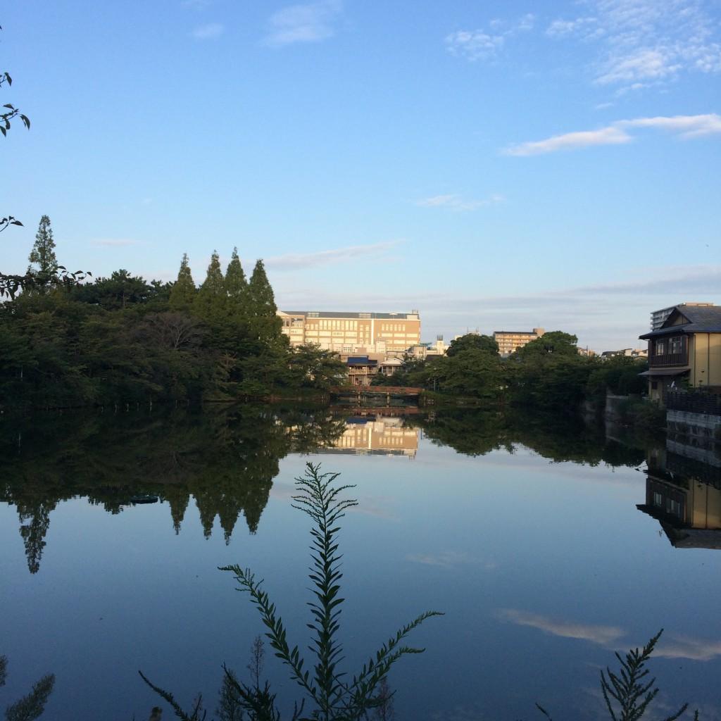 2015年9月18日(金)6時過ぎの桃が池