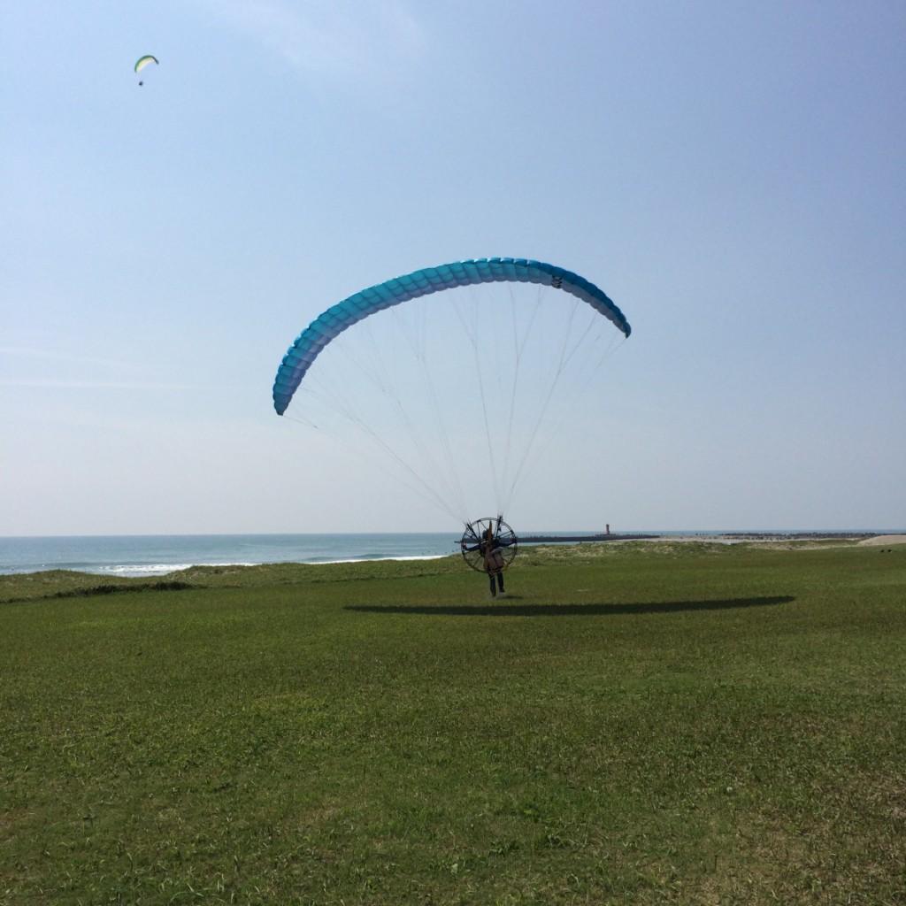 2015年9月22日(木)伊良湖モーターパラグライダー
