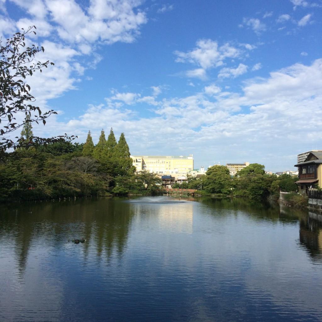 2015年9月26日(土)8時頃の桃が池