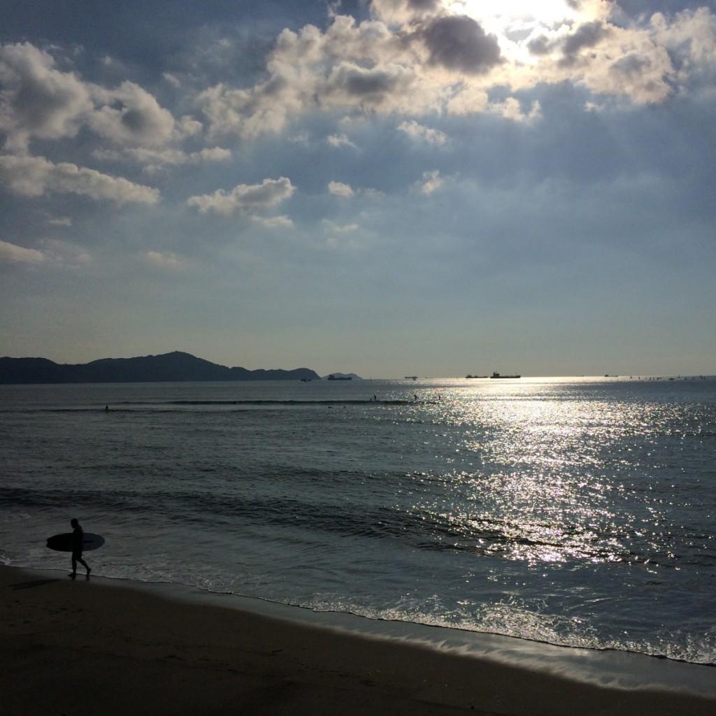 2015年9月27日(日)朝15時半の浜の宮ビーチ