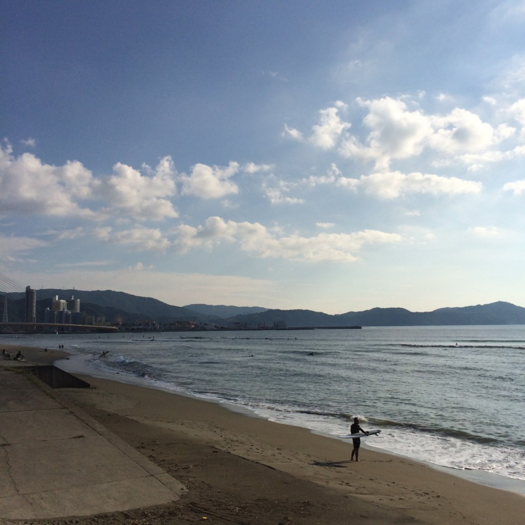 2015年9月27日(日)朝15時の浜の宮ビーチ