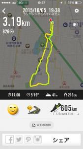 2015年10月5日(月)Nike+