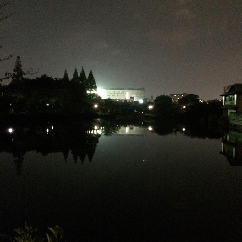 2015年10月10日(土)20時頃の桃が池
