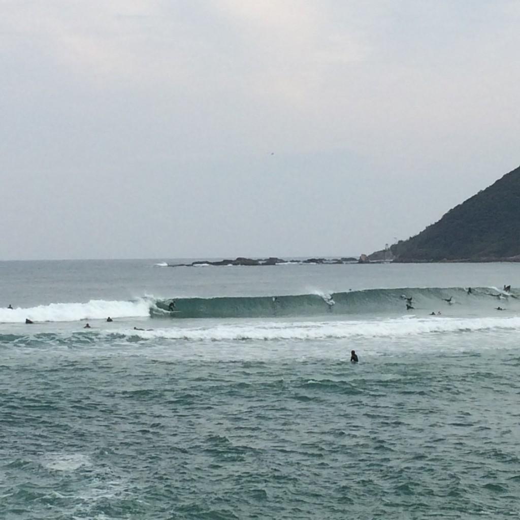 2015年10月11日(日)八丁浜の波
