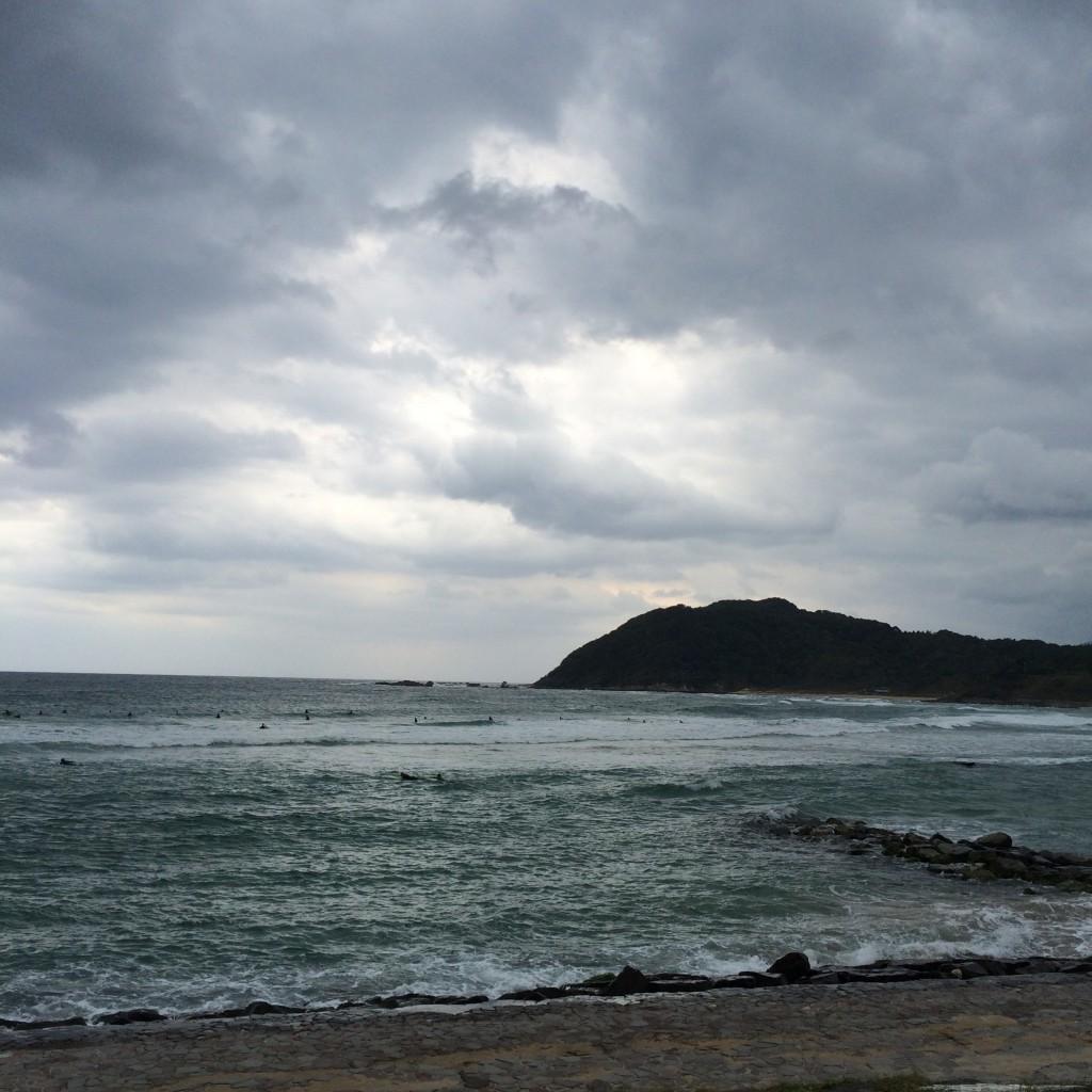 2015年10月11日(日)八丁浜の波3