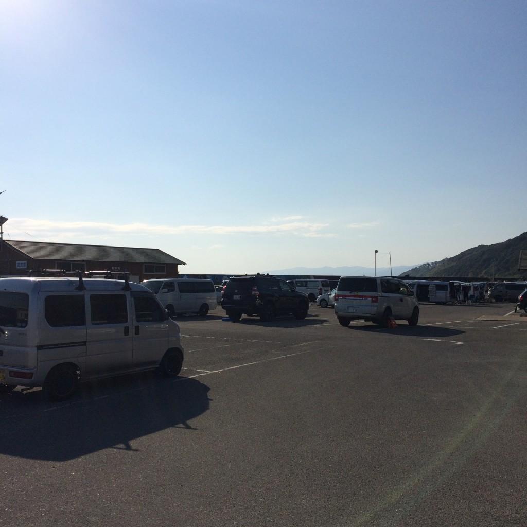 2015年10月17日(土)和歌山磯ノ浦駐車場
