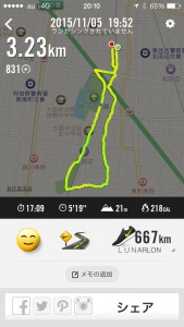 2015年11月5日(木)Nike+