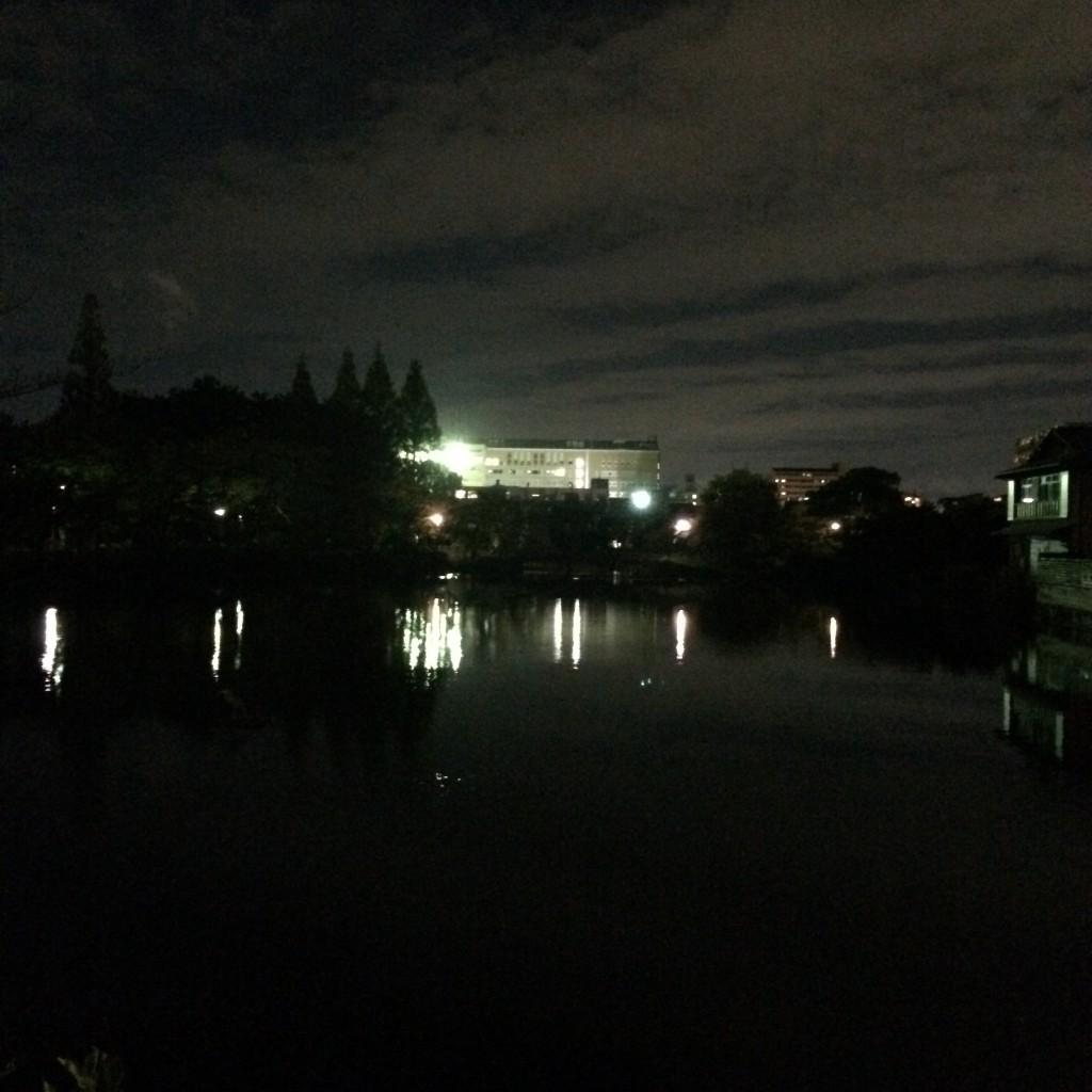 2015年11月10日( 火)19時頃の桃ヶ池