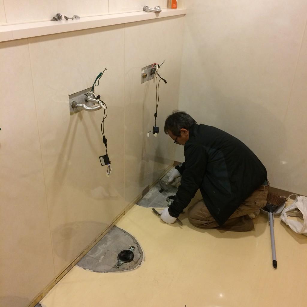 2015年12月7日(月)トイレ改修工事2
