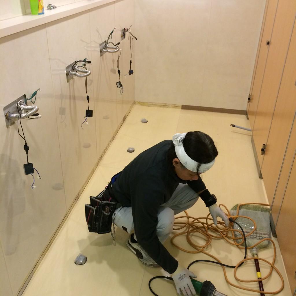 2015年12月7日(月)トイレ改修工事4