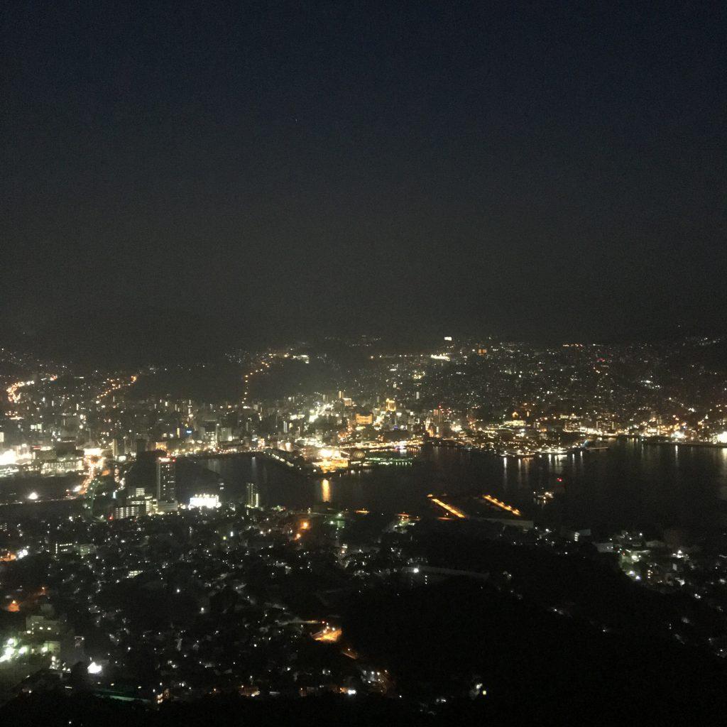 長崎町並み夜景
